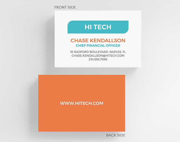 Clean cut business card credit card size 1027542 business click to view larger colourmoves