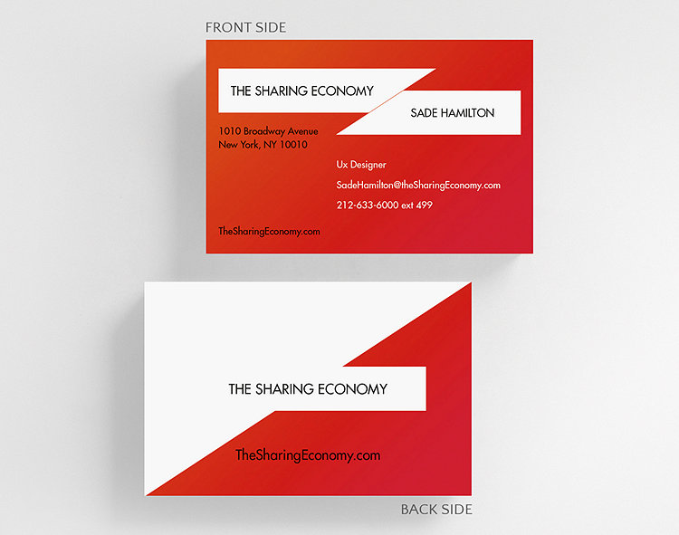 Tectonic Business Card Credit Card Size 1027669 Business