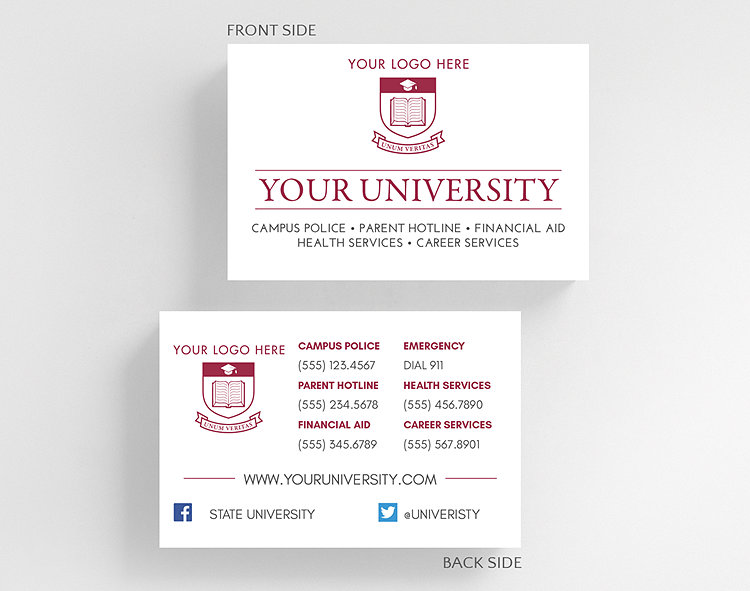 University business card credit card size 1027826 business university business card credit card size click to view larger colourmoves