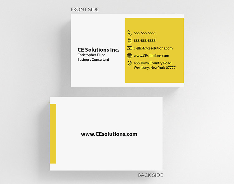 Color swatch business card credit card size 1027828 business color swatch business card credit card size click to view larger reheart Gallery