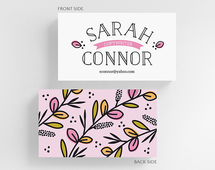 coloring book business card standard size click to view larger