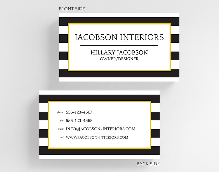 Bold stripes business card standard size 1027497 business bold stripes business card standard size click to view larger colourmoves