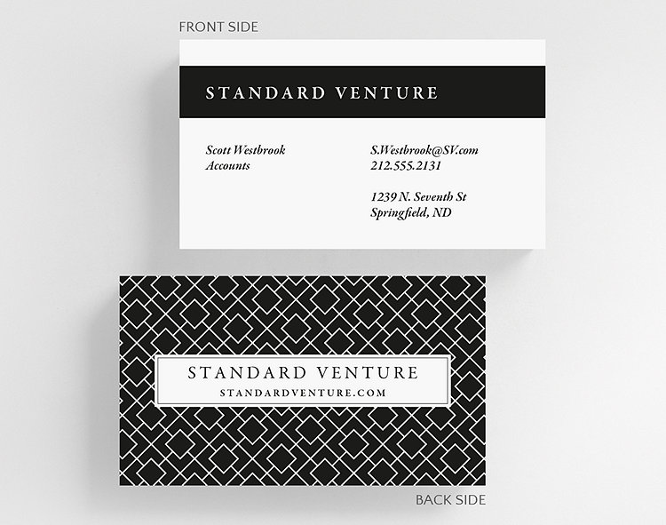 Box in a box business card standard size 1027557 business box business card standard size click to view larger reheart Gallery