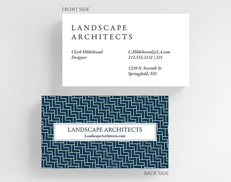 Pavers business card standard size 1027558 business christmas cards pavers business card standard size click to view larger colourmoves