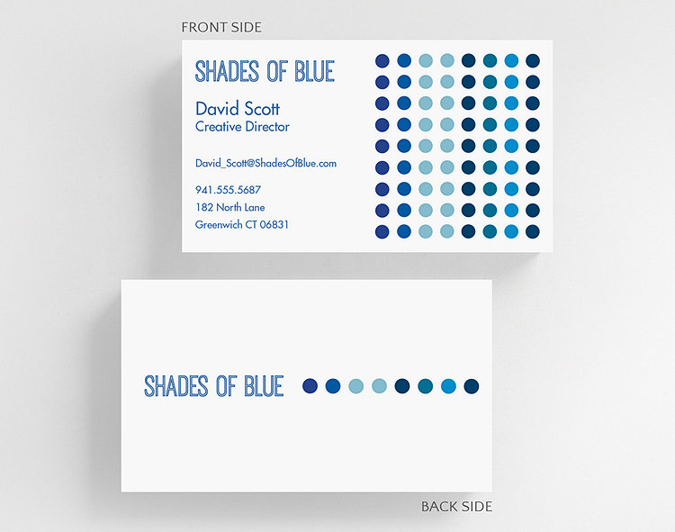beaded business card standard size click to view larger - Business Card Standard Size