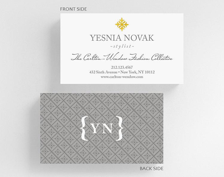 Tin Tiles Business Card Standard Size – Business Cards