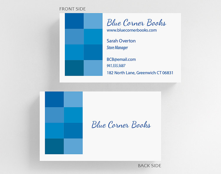 nook business card standard size click to view larger - Business Card Standard Size