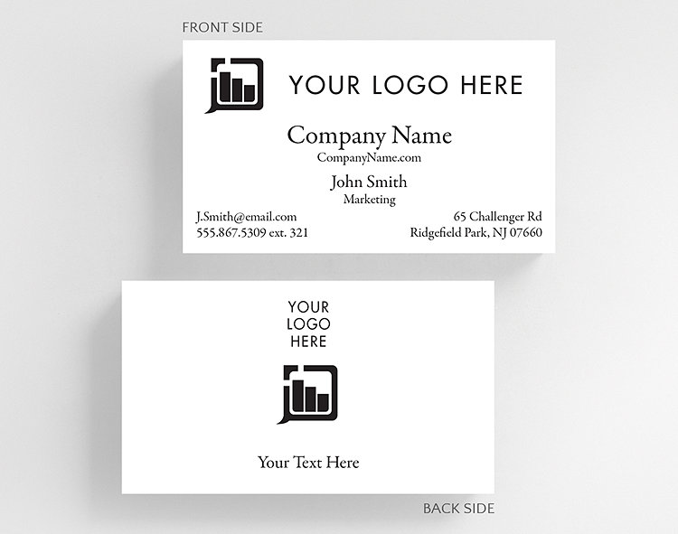 Business basics photo and logo h2 business card standard size business card standard size click to view larger colourmoves