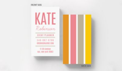 Textured Watercolor Business Card Standard Size 1027592 Business