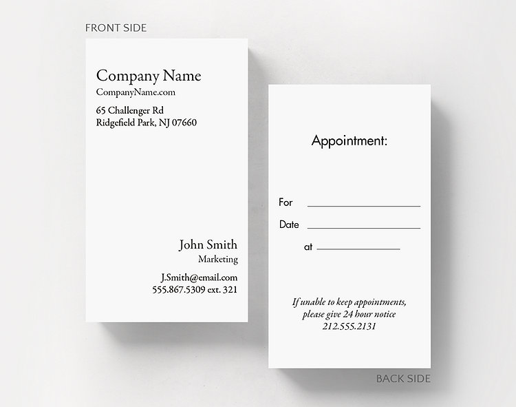 Business basics appointment v1 business card standard size 1027681 business basics appointment v1 business card standard size click to view larger colourmoves Images