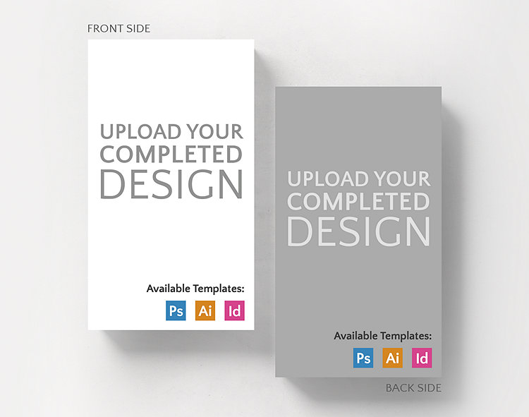 Upload your completed design vertical business card standard size upload your completed design vertical business card standard size click to view larger reheart Images