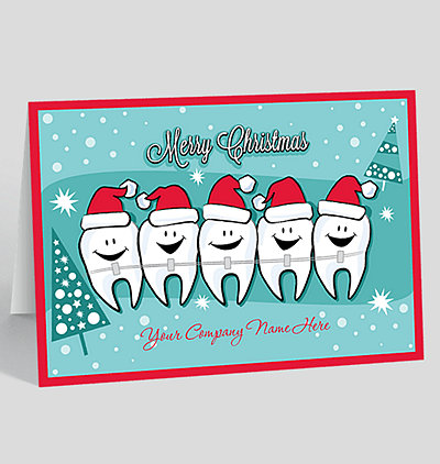 Dental industry christmas cards the gallery collection happy teeth christmas card m4hsunfo
