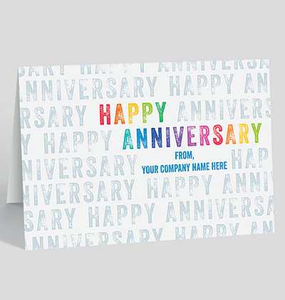 50 off greeting cards sale the gallery collection rainbow stamped anniversary card m4hsunfo