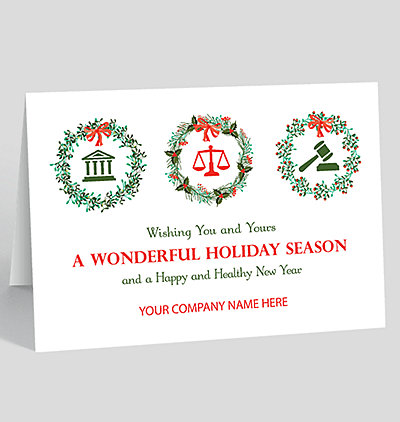 Happy new years cards the gallery collection legal trio holiday card reheart Choice Image