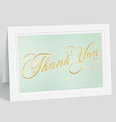 Thank You Reflections Greeting Card