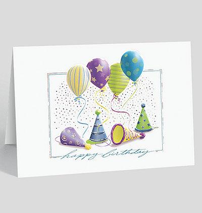 Birthday Festivities Birthday Card