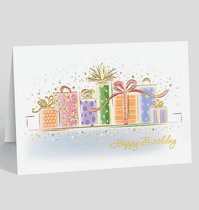 Birthday Package Fun Card