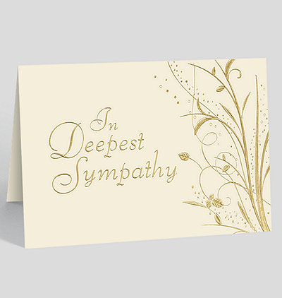 Sympathy Garden Card