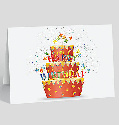 Red Velvet Birthday Card