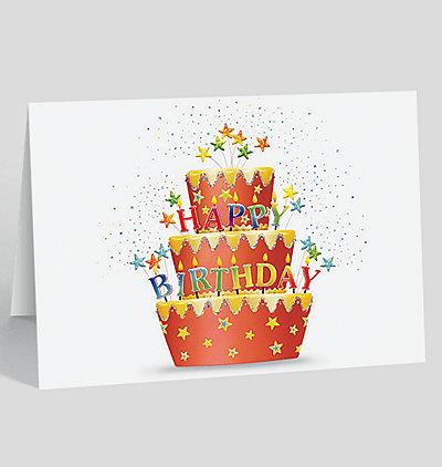 Red Velvet Birthday Card
