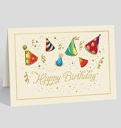 Hats Off to You Birthday Card