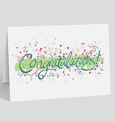 Congratulations Celebration Card