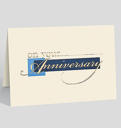 Classic Anniversary Card