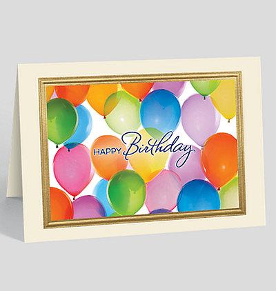Birthday Kaleidoscope Greeting Card