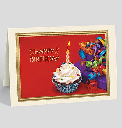 Vivid Birthday Celebration Card
