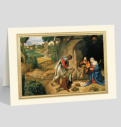Allendale Nativity Christmas Card