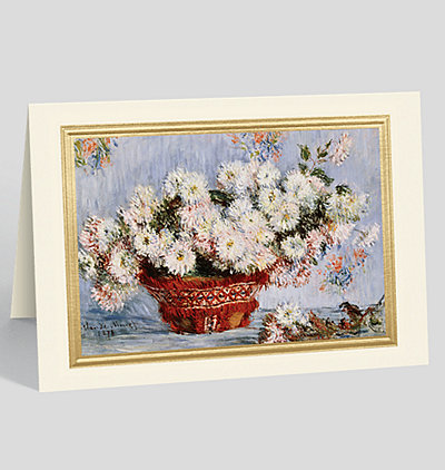 Chrysanthemums Greeting Card