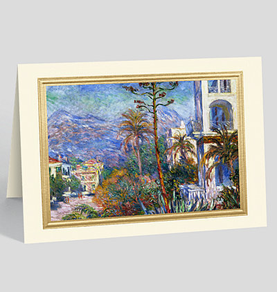 Villen at Bordighera Greeting Card