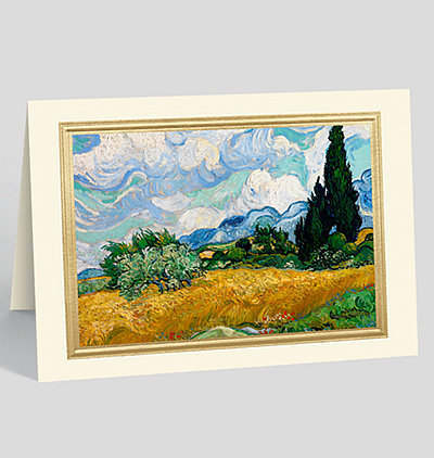 Summer Landscape Greeting Card