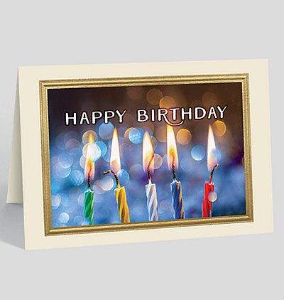 Birthday Lights Card