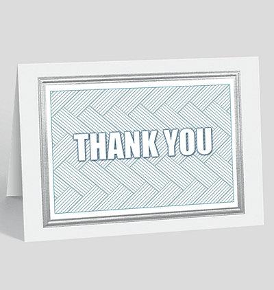 Thank You Motif Card