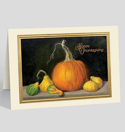 Thanksgiving Array Card