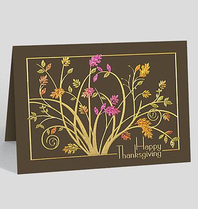 Thanksgiving cards business thanksgiving cards autumn delight card colourmoves