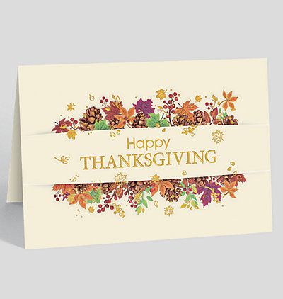 business thanksgiving cards the gallery collection