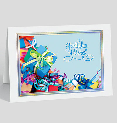Best Wishes On Your Birthday Card