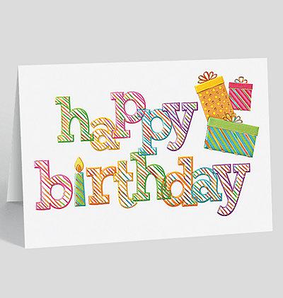 Birthday Jazz Card