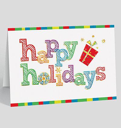 Holiday Jazz Card
