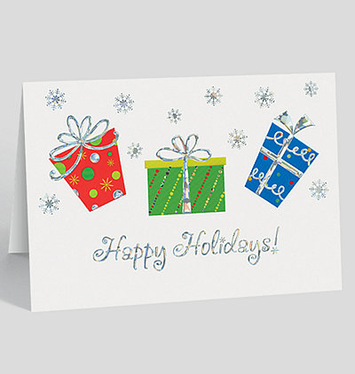 Holiday Gifts Card