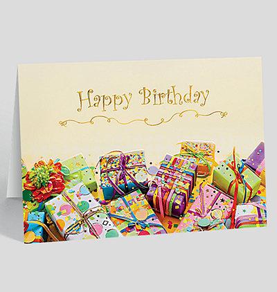 Birthday Gift Jumble  Card