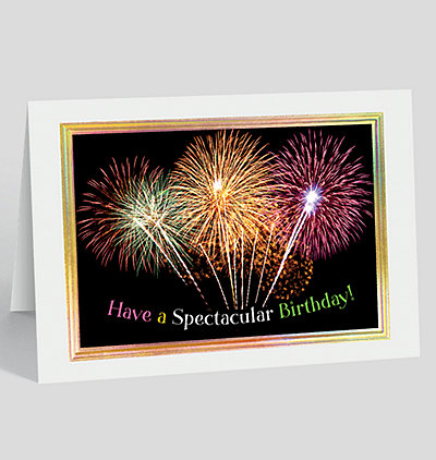Spectacular Birthday Burst Card