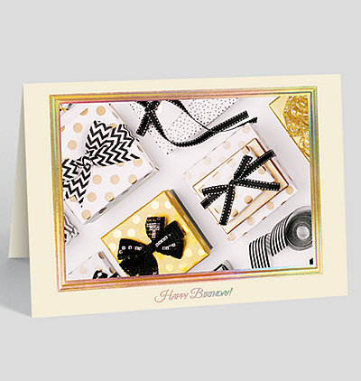Contemporary Gifts Birthday Card