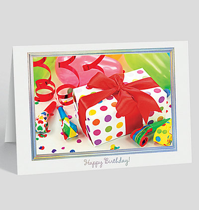 Special Birthday Gift Card