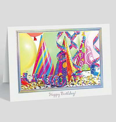 Birthday Party Pizazz Card