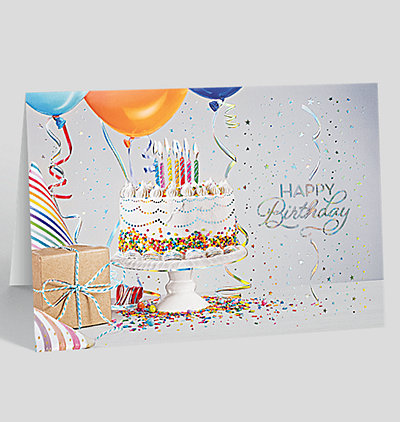 Birthday Hooray Card
