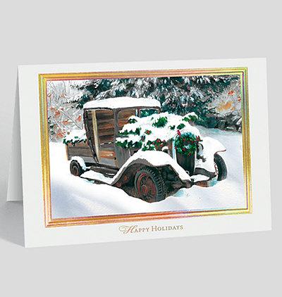 Holiday Nostalgia Card