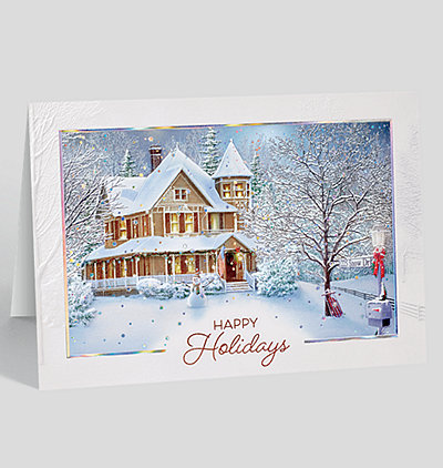 Home Sweet Home Holidays Card